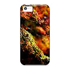 Hot Fashion Gme5185YdmZ Design Case Cover For Iphone 5c Protective Case (autumn Color)
