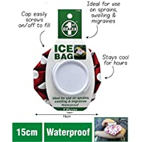 Re-usable Ice Bag | Screw Lid Ice Pack First Aid Red 15cm