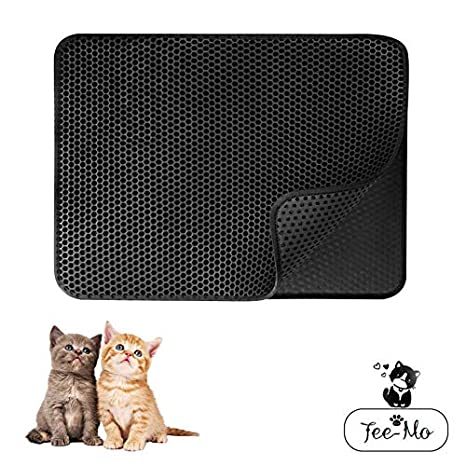 Tee-Moo Tapete para Gatos, Doble Capa Honeycomb Impermeable a ...