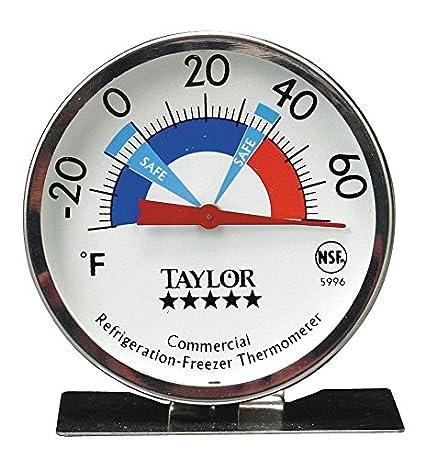 Taylor 5996N Pro SeriesRefrigerator / Freezer Dial Thermometer