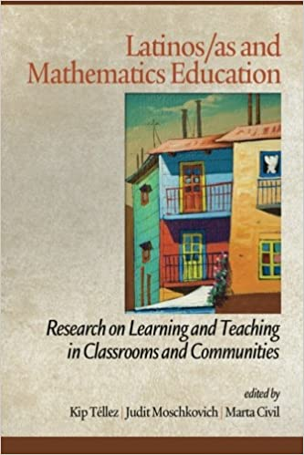 Book Latinos/as and Mathematics Education: Research on Learning and Teaching in Classrooms and Communities