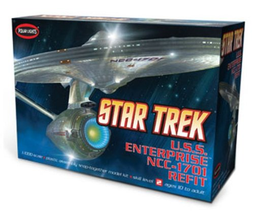 Lights Snap Polar (Polar Lights 1/1000 USS Enterprise NCC-1701A)