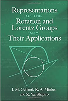 Representations of the Rotation and Lorentz Groups and Their Applications