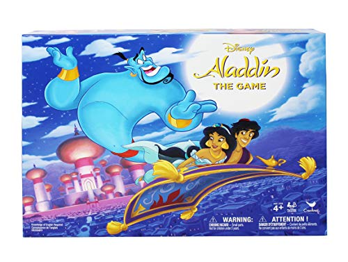 Spin Master Games Disney Aladdin Board Game, for Families and Kids Ages 4 and Up, Multicolor (6052261)