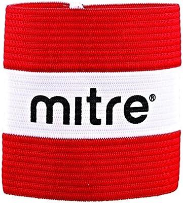 Mitre Captain - Brazalete de capitán para Hombre, Color Escarlata, Talla L: Amazon.es: Deportes y aire libre