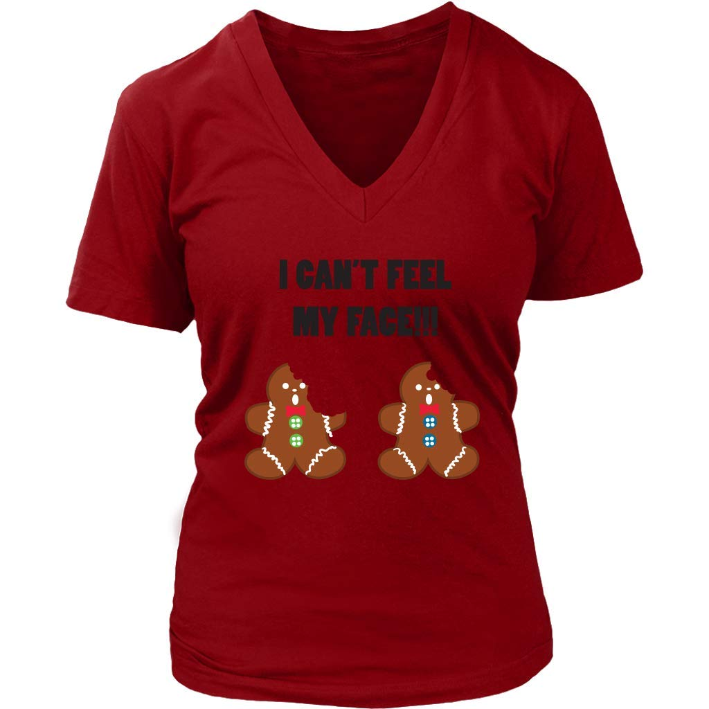 f92019244 Gingerbread Men Funny Christmas T-Shirt - Xmas Holidays Tee - Womens Plus  Size up to 4X at Amazon Women's Clothing store: