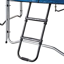 Pure Fun Trampoline Accessory: Trampoline Ladder with 2 Platform Steps