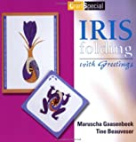 Iris Folding with Greetings, Maruscha Gaasenbeek and Tine Beauveser, 9058772705