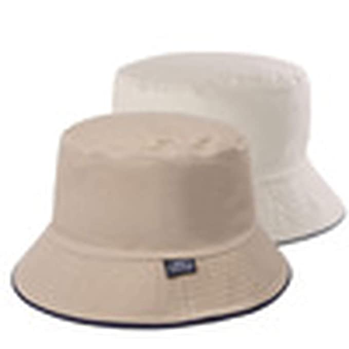 9becb2eccf5 Image Unavailable. Image not available for. Color  2019 Solid Bucket Hats  Men Reversible Two Sides can wear 100% Cotton Sun bob Cap