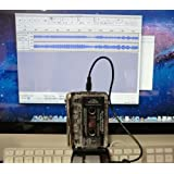 Tape-2-Mac USB Audio Tape Capture Device for Apple Mac OSX - Copy, Capture, Transfer & Convert audio cassette tapes onto your Mac. For all iMac, Macbook, Mini & Pro models. Includes tutorial video.