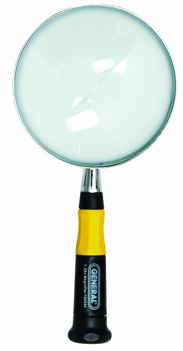 General Tools 750544 Glass Magnifier 4 Inch