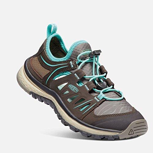 Keen(キーン) レディース 女性用 シューズ 靴 サンダル Terradora Ethos - Mulch/Blue Turquoise [並行輸入品]