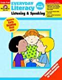 Everyday Literacy Listening and Speaking, Evan-Moor Educational Publishers, 1608236536
