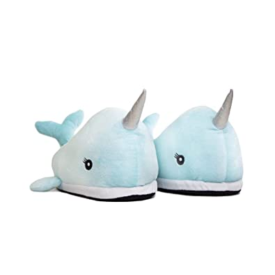 dea2f648fae AddCore Narwhal LED Light Up Slipper for Women s and Children UK Adults  Size 4-7  Amazon.co.uk  Shoes   Bags