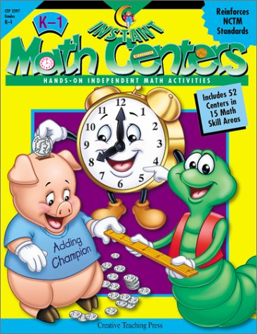 - Instant Math Centers: Hands-On, Independent Math Activities
