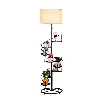 Amazon.com: YZPLDD - Lámpara de pie con forma de escalera en ...