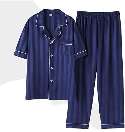 BENGKUI Pijamas para Hombre,Hombre Pijama Establece Pijama ...