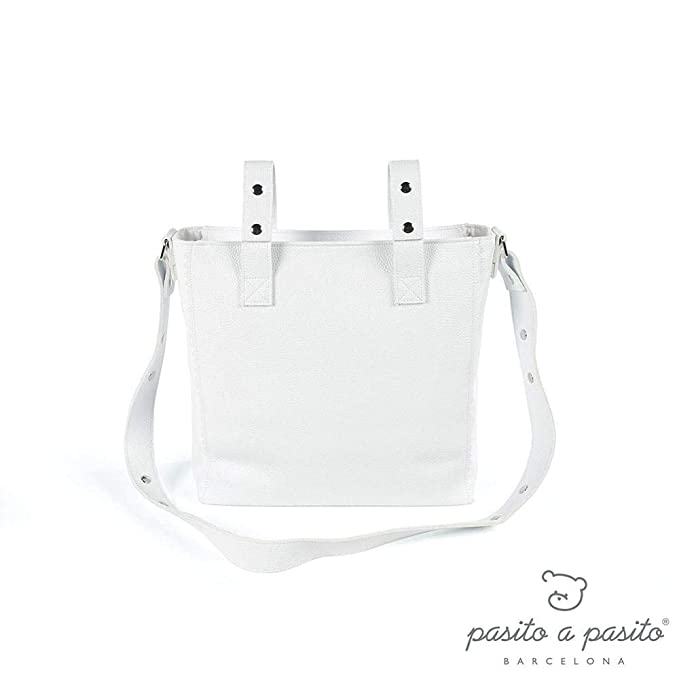 Pasito a Pasito Panera Total - Bolsa, unisex, color blanco