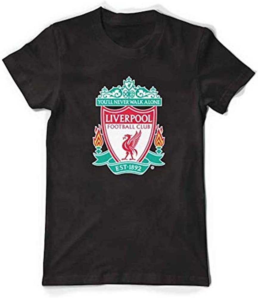 Liverpool FC Official Core Black T-Shirt