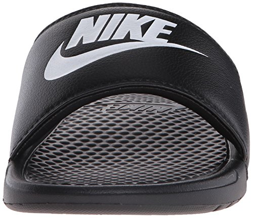 Nike Mens Benassi Proprio Non Scivolare Sandalo Nero / Bianco