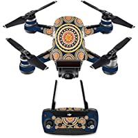 Skin for DJI Spark Mini Drone Combo - Summer Mandala| MightySkins Protective, Durable, and Unique Vinyl Decal wrap cover | Easy To Apply, Remove, and Change Styles | Made in the USA