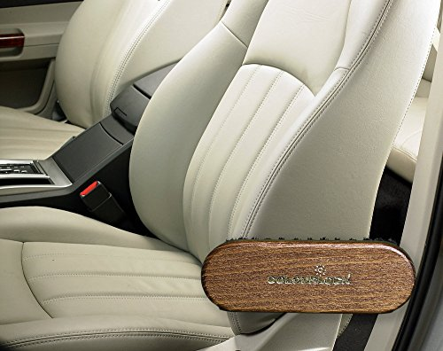 COLOURLOCK Leather Textile Cleaning Brush For Car Interiors Alcantara Car Seats And Leather Furniture Upholstery