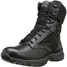 "Timberland PRO Men's 8"" Valor Soft Toe Waterproof Side-Zip Duty Boot"