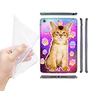 Head Case Designs Abyssinian Kitty Am I Dreaming Realistic Cats in Artificial Space Soft Gel Back Case Cover for Apple iPad mini with Retina Display iPad mini 3