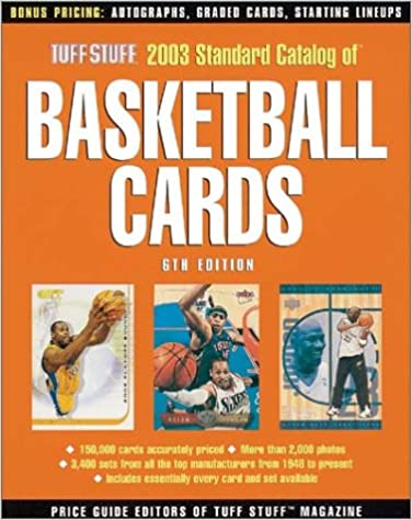 Tuff Stuff Standard Catalog of Basketball Cards