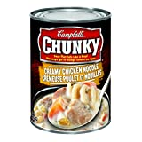 Campbell's Chunky Soup, Creamy Chicken Noodle Soup, 540ml