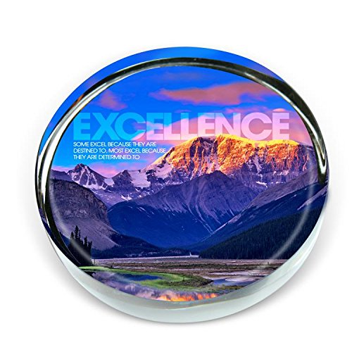 Successories - Excellence Mountain Positive Outlook Paperweight by Successories