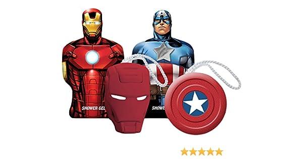 Avengers Marvel Cabina de Baño de Capitán América y Iron Man - 1 ...