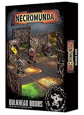 Necromunda: Bulkhead Doors from Games Workshop