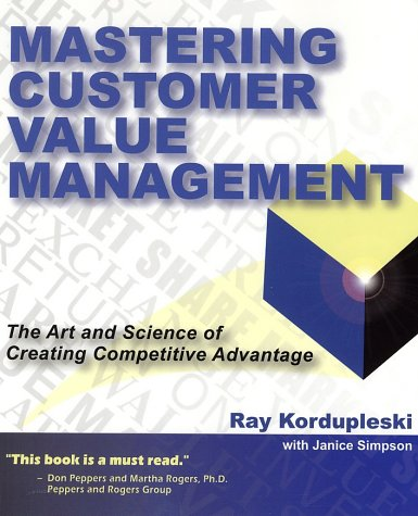 Mastering Customer Value Management: The Art and Science of Creating Competitive Advantage