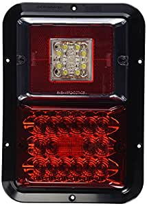 Bargman 47-84-613 Surface Mount Taillight, Red