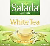 Salada 100% Pure White Tea 40ct (Case of 6 boxes)