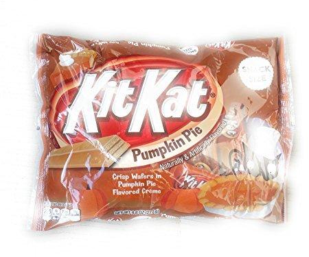 KitKat Pumpkin Pie Snack Size Crisp Wafers 9.8oz, Pack of 2