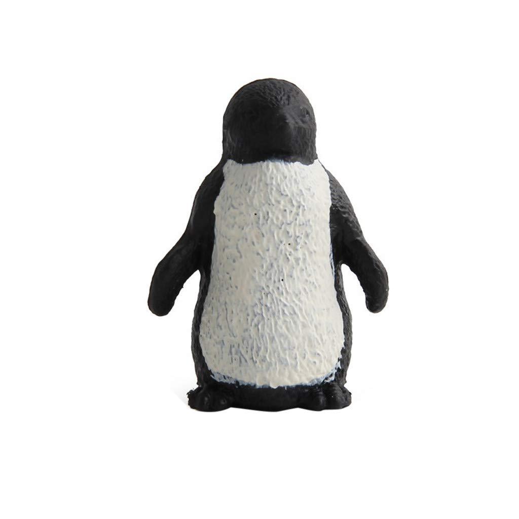 【在庫処分】 Coerni 知育 模擬ペンギン モデルおもちゃ 知育 子供用 早期学習 4.5x7.5x3.5cm RJW4J B07KPX4C94 マルチカラー RJW4J G B07KPX4C94, J.Dコーポレーション:6830a348 --- a0267596.xsph.ru