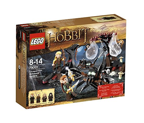 The Hobbit - Escape from Mirkwood Spiders - - Hobbit With Lego Spiders The Sets