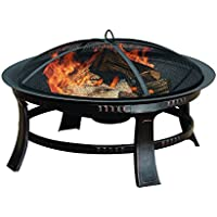 Pleasant Hearth OFW106R Brant Wood Burning Fire Pit (Bronze)