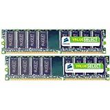 Corsair 2GB (2x1GB) DDR 400 MHz (PC 3200) Desktop Memory