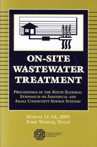 Download On-site Wastewater Treatment, V 9, 2001 pdf