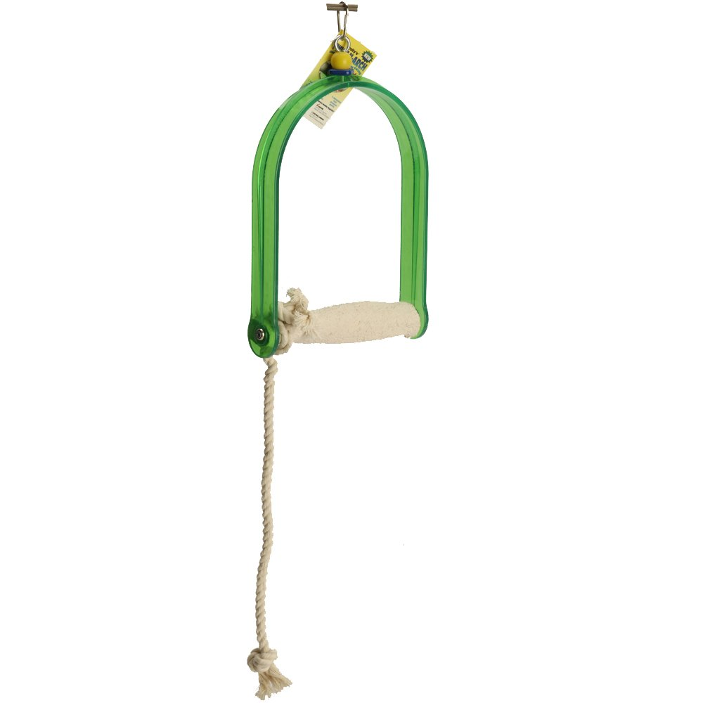 Polly's Twist-N-Arch Bird Swing, Large by Polly's