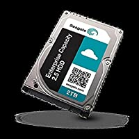 Seagate Enterprise Capacity 2.5 HDD 12GB/s SAS 512E 2TB Hard Drive With SED FIPS ST2000NX0353