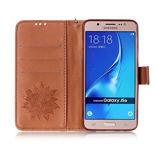 Tipo Magnético Con Antipolvo Cierre Atril Tarjetero Libro De Piel 1 Samsung Galaxy nbsp; 11 2016 J5 Para Y Smartphone Funda J510 Función Tapón wnEU7O7