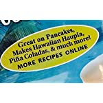 Hawaiian Coconut Pancake and Waffle Syrup Mix, 2 Pack - Makes up to 40 Ounces Total, Simple to Make, Just Mix with Hot Water 7