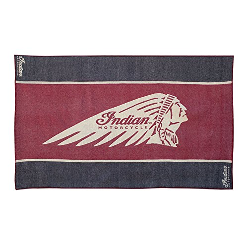 Indian Motorcycle Wool Throw ()