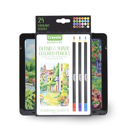 NEW Crayola Signature Colored Pencils - Multi-Color - 24 Cou