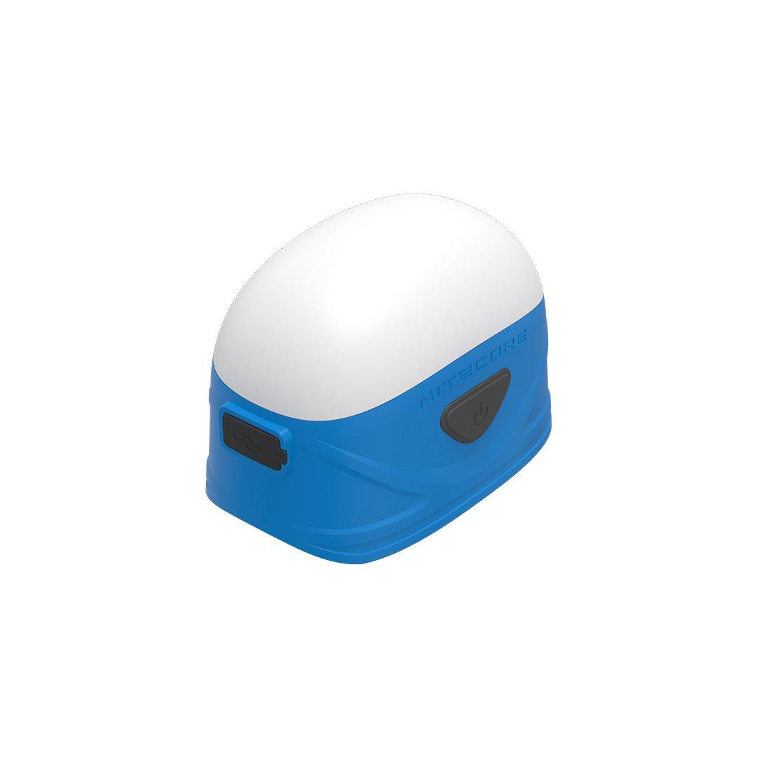 Nitecore LA30 250 Lm White & Red Bi-Fuel Rechargeable Mini Lantern (Blue), Yellow