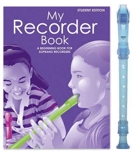 Yamaha Blue Recorder Pack with My Recorder Book/CD by Sandy Feldstein